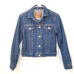 Levis Youth Jean Jacket Youth Blue Denim Large